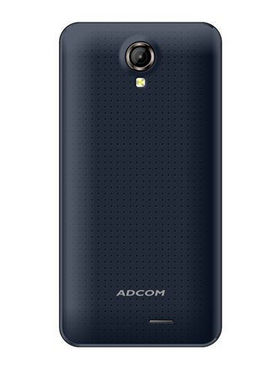 Adcom Kitkat A-47 Quad Core processor With Free Screen Guard - Black