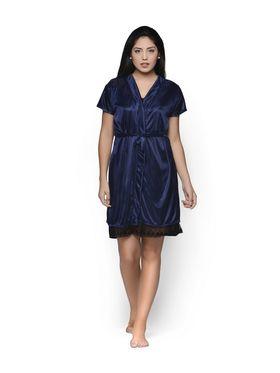 Set of 2 Klamotten Satin Solid Nightwear - X131-67