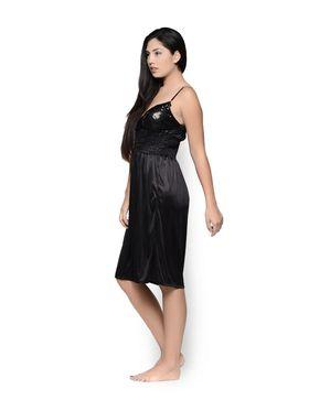 Set of 2 Klamotten Satin Solid Nightwear - X155-156