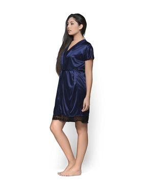 Set of 2 Klamotten Satin Solid Nightwear - X29-67