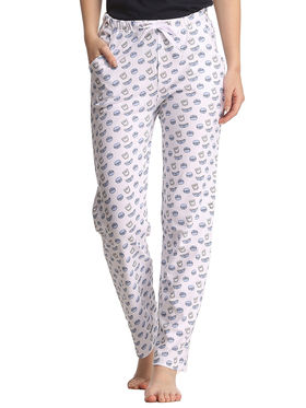 Clovia Cotton Printed Pyjama -LB0015P18