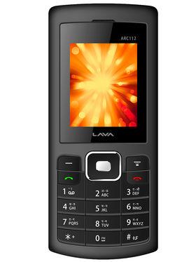 Lava Arc 112 Dual Sim Phone - Grey & Black