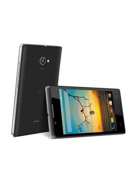 Lava Flair P1i Android Kitkat 3G Smartphone - Black