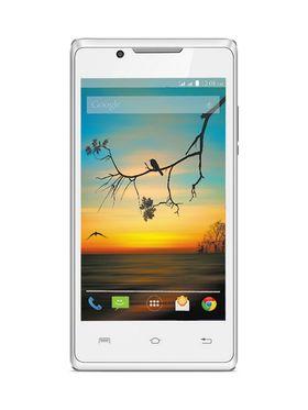Lava Flair P1i Android Kitkat 3G Smartphone - White