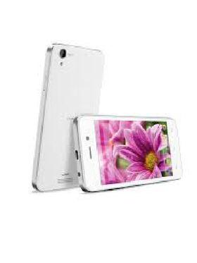 LavaIRIS ATOMX 4 Inch Android 4.4.2 KitKat - White