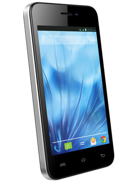 Lava Iris X1 Atom S 4-inch Android Kitkat 3G Smartphone - Black