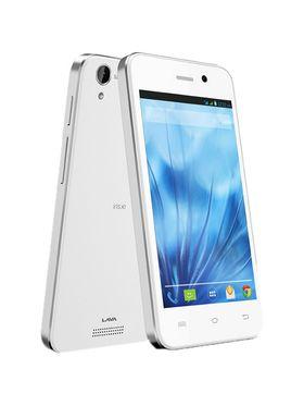 Lava Iris X1 Atom S 4-inch Android Kitkat 3G Smartphone - White