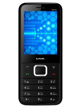 Lava KKT Alpha+ Dual Sim Phone - Black&Grey