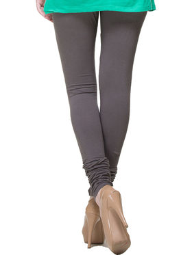 Combo of 10 Arisha Solid Cotton Lycra Legging -sa01