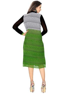 Khushali Fashion Georgette Printed Stitched Kurti -Msk2666