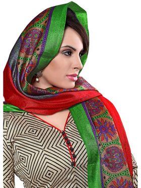 Khushali Fashion Chanderi Self Dress Material -Ncekl1006