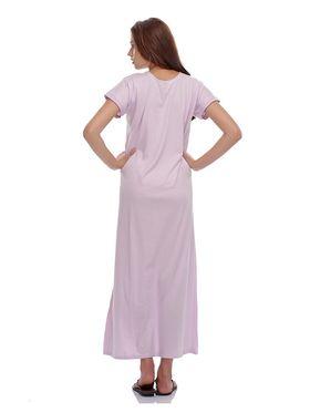 Clovia Cotton Blend Solid Nightsuit -NS0398P12