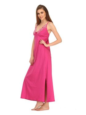 Clovia Blended Solid Nighty -NS0558P14