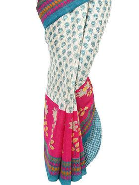 Branded Cotton Bhagalpuri Sarees -Pcsrsd25