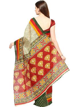 Branded Cotton Bhagalpuri Sarees -Pcsrsd26