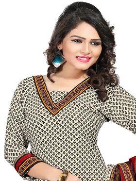 Khushali Fashion Crepe  Printed Unstitched Dress Material -PFCS512