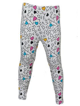Pack of 5 Little Star Girl's Multicolor Leggings - PO5L_109