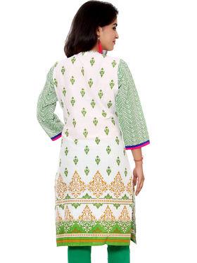 Set of 2 Priya Fashions Pure Cotton Jaipuri Printed Kurtis - PF105K2