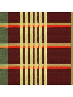 Nanda Silk Mills Handloom Grey & Gold Plain Cotton Silk Saree -nad19
