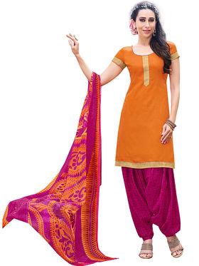 Khushali Fashion Cotton Self Unstitched Dress Material -RPSP1010012