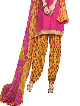 Khushali Fashion Glaze Cotton Printed Unstitched Dress Material -RPSP28006