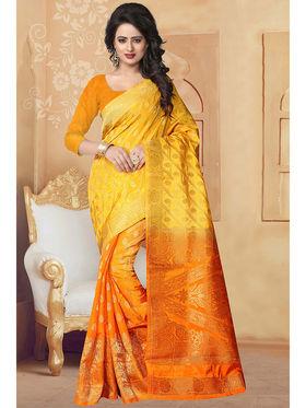 Viva N Diva Banarasi Silk and Jacquard Saree Rinnie-1377