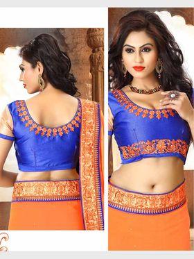 Viva N Diva Chiffon Floral Embroidery Saree -Riwaaz-Again-9005