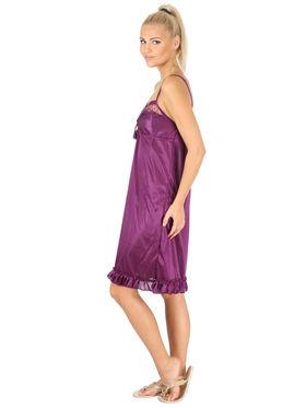 Branded Satin Plain Nightwear -SLS-SNI-6