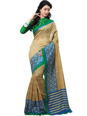 Shonaya Printed Handloom Cotton Silk Saree -Snhls-2010-A