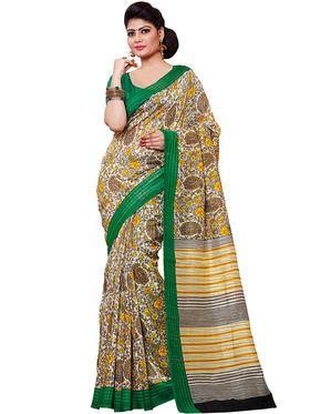 Shonaya Printed Handloom Cotton Silk Saree -Snkvs-3001-B