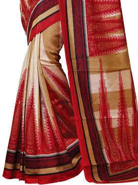 Shonaya Printed Handloom Cotton Silk Saree -Snkvs-3008-A