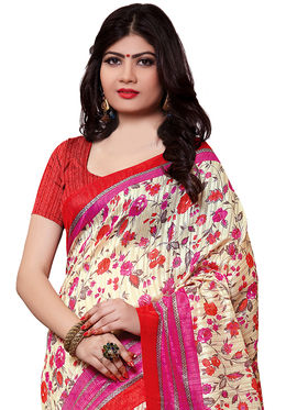Shonaya Printed Handloom Cotton Silk Saree -Snkvs-3011-B