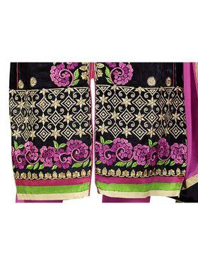 Khushali Fashion Chanderi Embroidered Dress Material -Ssblfr1001