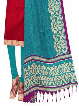 Khushali Fashion Art Silk Self Unstitched Dress Material -SSZVR1012
