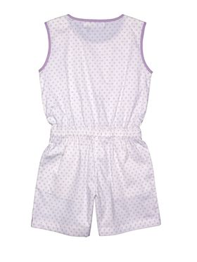 ShopperTree Printed Purple Cotton Lycra Jumpsuit-ST-1640