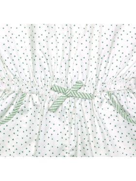 ShopperTree Printed Green Cotton Lycra Jumpsuit-ST-1641