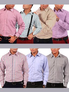 Scottish Club Pack of 7 Formal Shirts