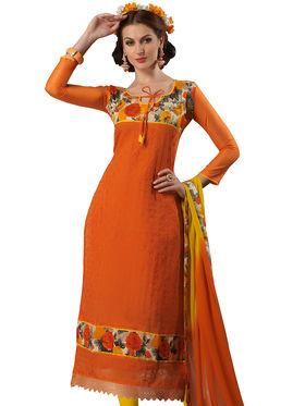 Viva N Diva Chanderi Bhagalpuri Karachi Embroidered Unstitched Suit Suhaani-1001