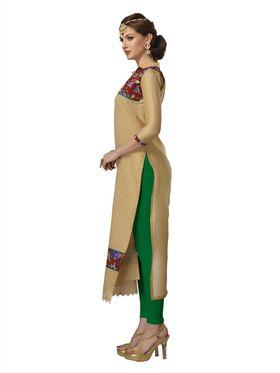 Viva N Diva Chanderi Bhagalpuri Karachi Embroidered Unstitched Suit Suhaani-1005