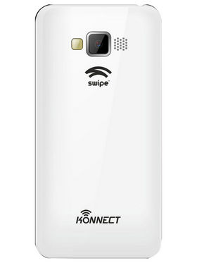 Swipe Konnect 4 Neo Dual Core Android Kitkat 3G Smartphone - White