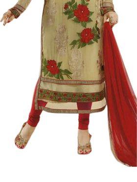 Thankar Semi Stitched  Georgette Embroidery Dress Material Tas270-0768