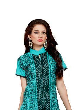 Thankar Semi Stitched  Cotton Embroidery Dress Material Tas280-2309