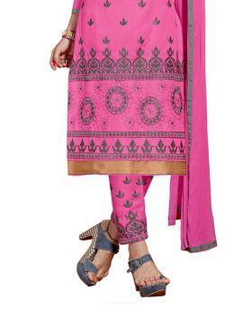 Thankar Semi Stitched  Cotton Embroidery Dress Material Tas280-2314
