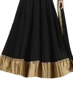 Thankar Semi Stitched  Georgette Embroidery Dress Material Tas284-143B