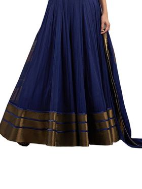 Thankar Semi Stitched  Net Embroidery Dress Material Tas286-5067