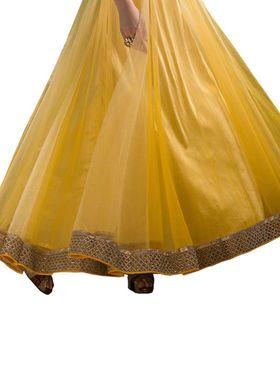 Thankar Semi Stitched  Net Embroidery Dress Material Tas286-5070