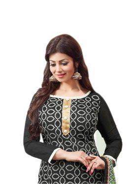 Thankar Semi Stitched  Cotton Embroidery Dress Material Tas288-2408