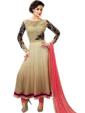 Thankar Semi Stitched  Georgette Embroidery Dress Material Tas294-8255