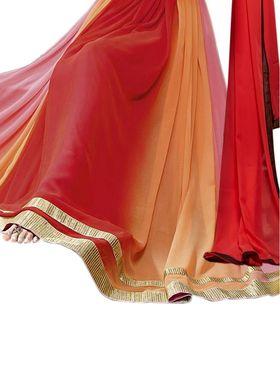 Thankar Semi Stitched  Georgette Embroidery Dress Material Tas296-7021Rf