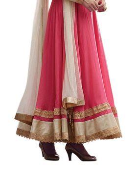 Thankar Semi Stitched  Georgette Embroidery Dress Material Tas298-5069